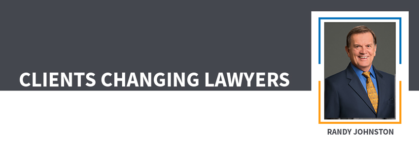 Clients Changing Lawyers