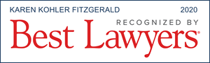 Karen Fitzgerald -Best Lawyers 2020 Badge