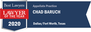 LOTY Chad Baruch -Best Lawyers 2020 Badge