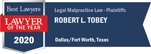LOTY Robert Tobey -Best Lawyers 2020 Badge