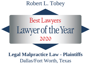 LOTY Robert Tobey -Best Lawyers 2020 Badge diamond